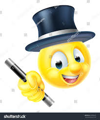 thanksgiving animated emoticons emoji emoticon smiley face magician character stock illustration