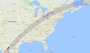 Erie Pennsylvania Map by Yes Erie Pa Is In The Path Of The 2024 Total Eclipse No You