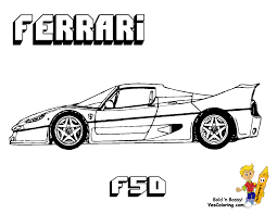 ferrari enzo sketch photo collection ferrari coloring pages 2