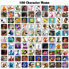 Meme Characters List - pictures 100 disney characters list drawings art gallery