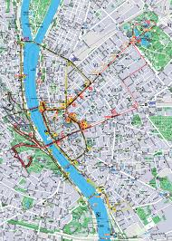 Map Of Budapest Official Giraffe Hop On Hop Off Budapest Home