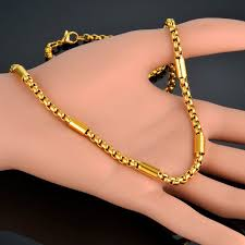 elegant gold necklace designs images Stylish beautiful gold chain designs for men ornaments jpg