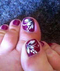 cute toenail designs beauty of floral nail art
