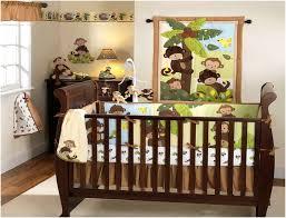 Crib Bedding Monkey Excellent Sock Monkey Crib Bedding Home Inspirations Design