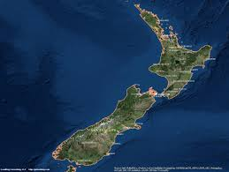 South America Satellite Map by New Zealand Satellite Maps Leaddog Consulting