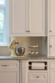 deas for papertowel holder built in kitchen cabinet paper towel