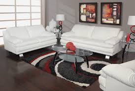ultra modern 3pc living room set leather paris white ultra modern 3pc living room set leather paris white for plans 11