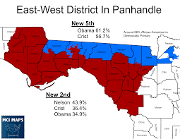 Map Of Florida Panhandle by Maps Detail Possible Changes To Comply With Court U0027s Redistricting