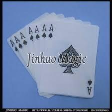 deck magic trick cards 50pcs lot for card magic