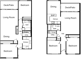 two apartment floor plans la villa apartments lynden wa floor plans