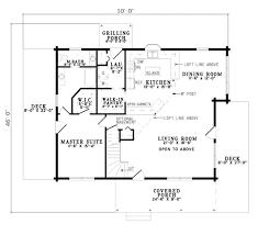 log style house plan 2 beds 2 00 baths 1940 sq ft plan 17 486