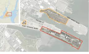 Purchase Ny Map Port Authority Land Purchase Is Boon To Bayonne And Christie