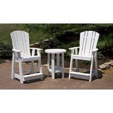 Tall Outdoor Chairs Tall Outdoor Balcony Chairs Wayfair