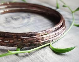 sterling bangle bead bracelet images Thin silver bangles hammered thin sterling silver stacking jpg