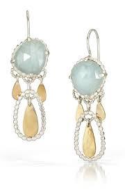 aquamarine drop earrings aquamarine and gold handmade drop earrings symbology by