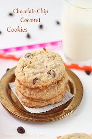 s cookies chewy chocolate chip coconut cookies a treats affair