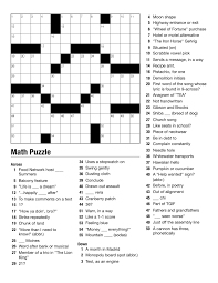 weekly themed crossword u2013 bvnwnews