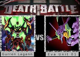 Gurren Lagann Memes - death battle gurren lagann vs eva unit 01 by spikejet2736 on