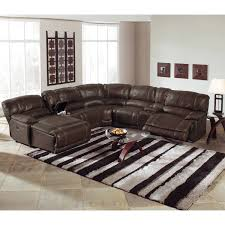 Microfiber Reclining Sectional With Chaise Eeokna Com I 2017 11 Brown Microfiber Sectional L
