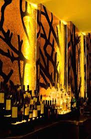 Restaurant Decoration Bar Wall Interior Decoration Lighting Design Of 51fifteen