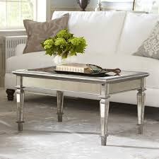 cheap mirrored coffee table birch lane leighton mirrored coffee table reviews wayfair