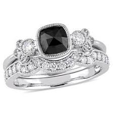 black diamond wedding set black diamonds collections zales