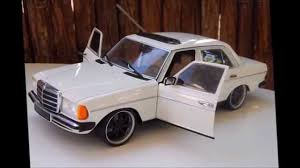 modified 1 18 mercedes 240d w123 by revell hd youtube