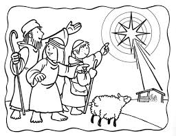 25 nativity coloring pages ideas baby jesus
