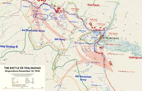 Yellowstone Eruption Map Operation Uranus Battle Of Stalingrad By O U0027sullivan Map Ww2