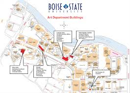 Map Of Boise Idaho Building Map Art Department