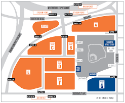 Bank Of America Stadium Map by Citi Field Parking Guide Tips Maps Deals Spg
