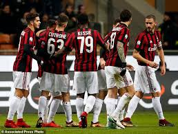 milan to play inter in italian cup qfs after verona win daily