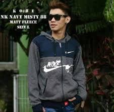Jaket Nike Murah Bandung jaket nike 2d logo navy sweater pria wanita grosir murah