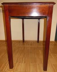 Kleiner Schreibtisch Kleiner Englischer Schreibtisch Rotes Leder Mahagoni Schreibtisch