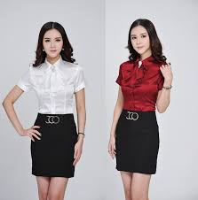 styles of work suites plus size business women office suits with skirt and tops sets