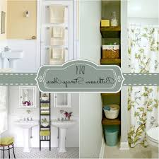 storage ideas for small bathrooms apartment smart diy storage