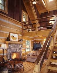log home interior design ideas adorable small log cabin interior design ideas using wooden