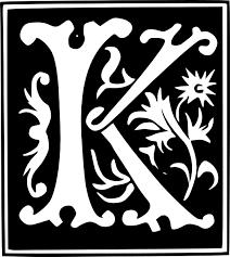 Appealing Letter K Wall Decor Letter K Different Fonts Google Search K Pinterest Fonts