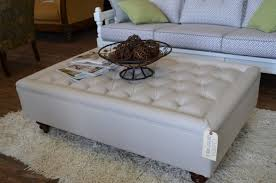 coffee tables astonishing black leather storage ottoman coffee