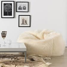 icon soho long fur bean bag u2013 luxury faux fur bean bags u2013 search