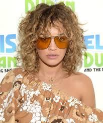 daily beauty buzz rita ora u0027s curly shag shag hairstyles rita
