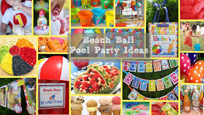 Pool Party Decoration Ideas Beach Ball Party Week Inspiration Board And Giveaway Party On