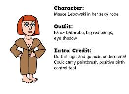Big Lebowski Halloween Costume Handy Dandy Big Lebowski Costume Guide