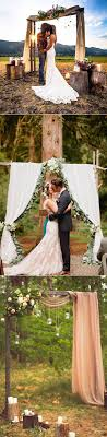 wedding arch plans free 25 chic and easy rustic wedding arch ideas for diy brides rustic