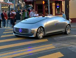 mercedes driverless car spotted cruising around san francisco
