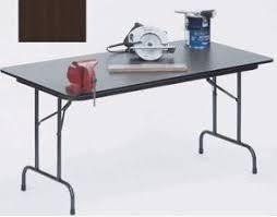 24 x 60 folding table medium oak plywood core folding table 24 x 60 instawares