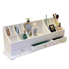 Desk Tray Organizer by Victor W9525 Pure White Collection Wood Desk Organizer With Smart