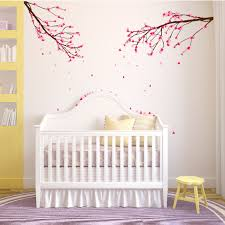 large wall nursery tree branch baby decal cherry blossom flowers cherry blossom branch nursery wall decals jpg