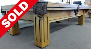 Gandy Pool Table Prices by Used 9 U0027 Gandy Atlantan Pool Table U2013 Coolpooltables Com