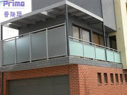 china glass handrail glass balustrade balcony handrail stainless
